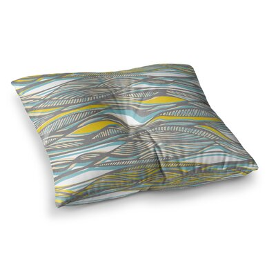 Drift by Gill Eggleston Floor Pillow Size: 23 x 23