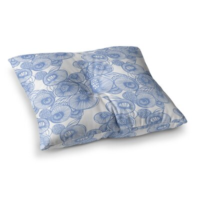 Fenella Floral by Gill Eggleston Floor Pillow Size: 23 x 23