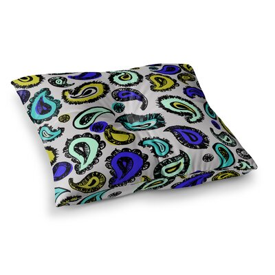 Fun by Gabriela Fuente Floor Pillow Size: 26 x 26