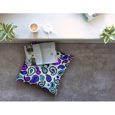 Fun by Gabriela Fuente Floor Pillow Size: 23 x 23