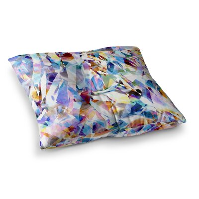 Buzz by Gabriela Fuente Floor Pillow Size: 26 x 26