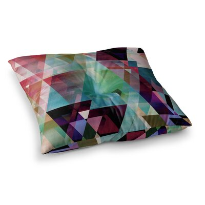 Splash by Gabriela Fuente Floor Pillow Size: 26 x 26