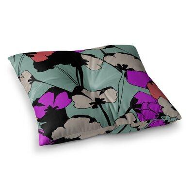Vintage Flowers by Gabriela Fuente Floor Pillow Size: 23 x 23