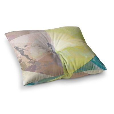 Patch Garden by Gabriela Fuente Floor Pillow Size: 23 x 23