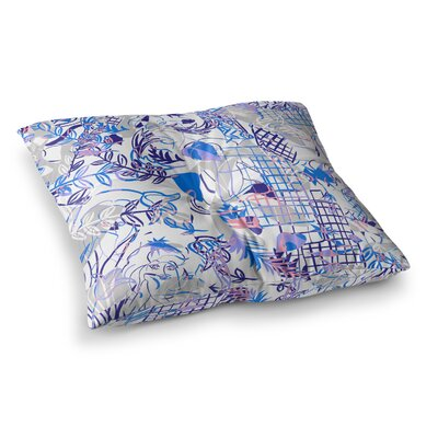 She by Gabriela Fuente Floor Pillow Size: 23 x 23