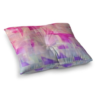Winter Flow by Gabriela Fuente Floor Pillow Size: 26 x 26