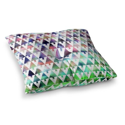 X-Mas Party Geometric by Gabriela Fuente Floor Pillow Size: 26 x 26