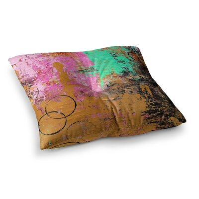 Kala II by Geordanna Fields Floor Pillow Size: 23 x 23