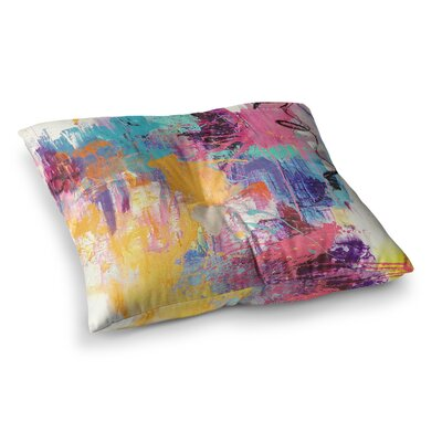 The Life After by Geordanna Fields Floor Pillow Size: 23 x 23