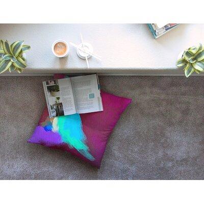 Sit Still, Look Pretty by Geordanna Fields Floor Pillow Size: 23 x 23