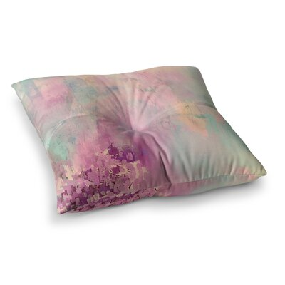 Serene Nebula by Geordanna Fields Floor Pillow Size: 23 x 23