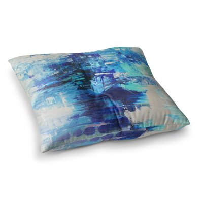 Walked on Water by Geordanna Fields Floor Pillow Size: 23 x 23