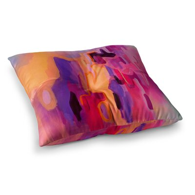 Pungent Euphoria by Geordanna Fields Floor Pillow Size: 26 x 26