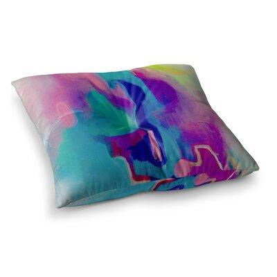 Deveraja by Geordanna Fields Floor Pillow Size: 26 x 26