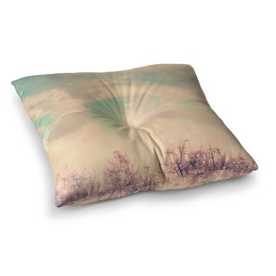 Spring Daydream Nature by Graphic Tabby Floor Pillow Size: 26 x 26