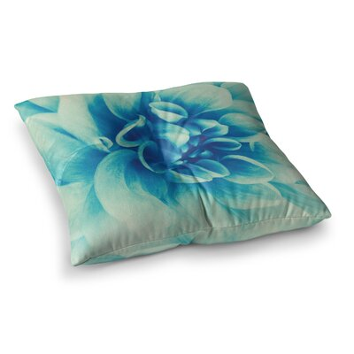 Beauty by Graphic Tabby Floor Pillow Size: 23 x 23