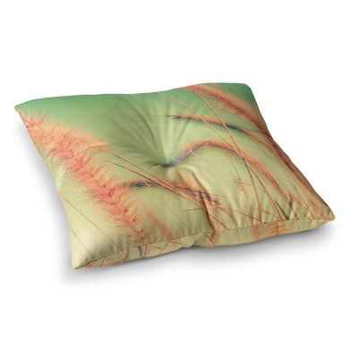 Dancing in Spring Nature by Graphic Tabby Floor Pillow Size: 23 x 23