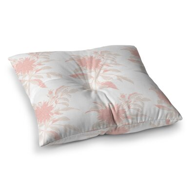Pastel Fluers by Gukuuki Floor Pillow Size: 23 x 23