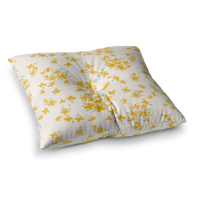 Kashmir Garden by Gukuuki Floor Pillow Size: 23 x 23
