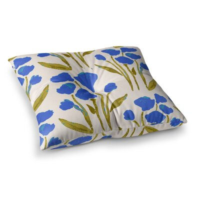 Shirley Gem by Gukuuki Floor Pillow Size: 26 x 26