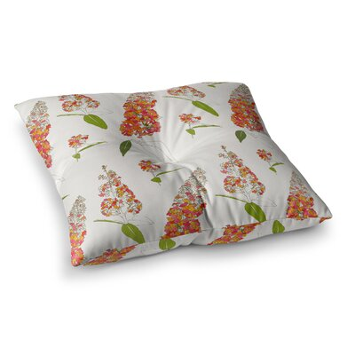 Barika Belva by Gukuuki Floor Pillow Size: 23 x 23