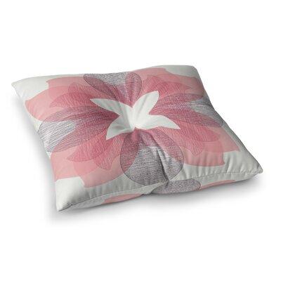 BOHEME Digital by Gukuuki Floor Pillow Size: 26 x 26