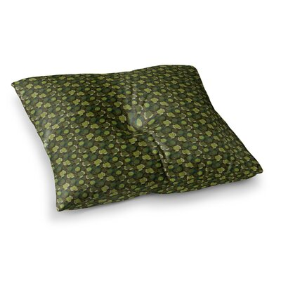 Camillia Dark by Holly Helgeson Floor Pillow Size: 26 x 26