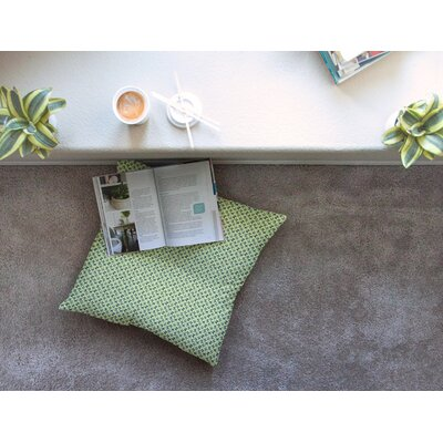 Flutterby by Holly Helgeson Floor Pillow Size: 26 x 26