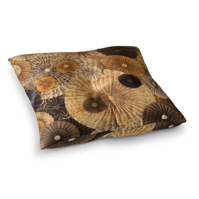 Grounded Paper by Heidi Jennings Floor Pillow Size: 26 x 26