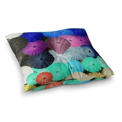 Graceful by Heidi Jennings Floor Pillow Size: 26 x 26