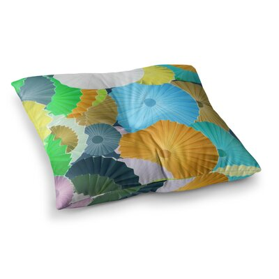 Curiousity by Heidi Jennings Floor Pillow Size: 23 x 23