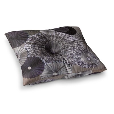 Shadows Circles by Heidi Jennings Floor Pillow Size: 23 x 23