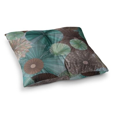 Atlantis by Heidi Jennings Floor Pillow Size: 23 x 23