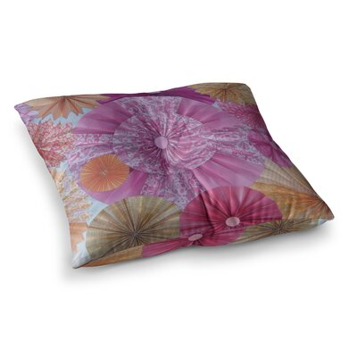 Blossoming by Heidi Jennings Floor Pillow Size: 23 x 23