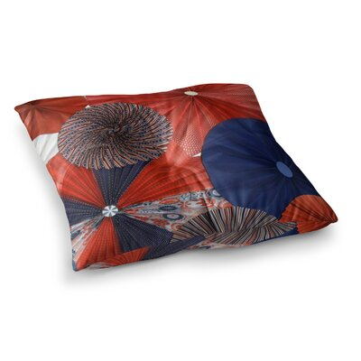 Liberty by Heidi Jennings Floor Pillow Size: 26 x 26