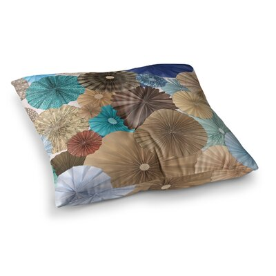 Day at the Beach by Heidi Jennings Floor Pillow Size: 23 x 23