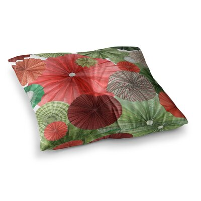 Christmas Remix Holiday by Heidi Jennings Floor Pillow Size: 23 x 23