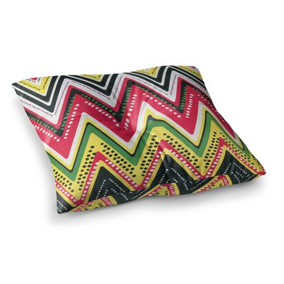 Jamaican Me Crazy by Heidi Jennings Floor Pillow Size: 26 x 26