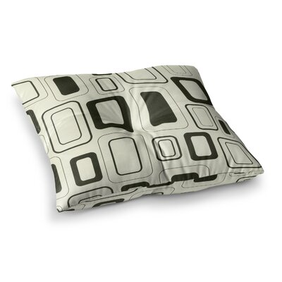 Cubes for Days by Heidi Jennings Floor Pillow Size: 26 x 26
