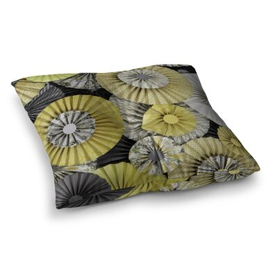 Daffodil by Heidi Jennings Floor Pillow Size: 23 x 23