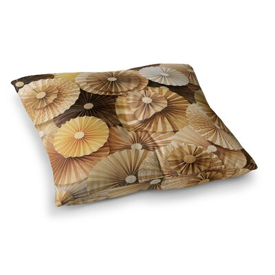 Caramel Latte by Heidi Jennings Floor Pillow Size: 23 x 23