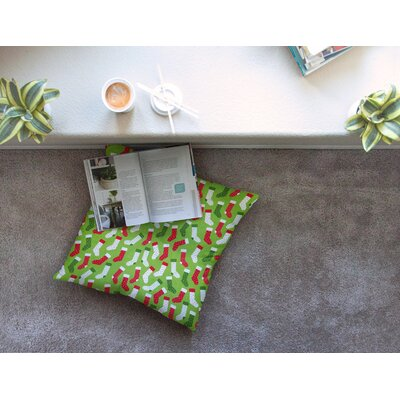 Stocking Season by Heidi Jennings Floor Pillow Size: 26 x 26