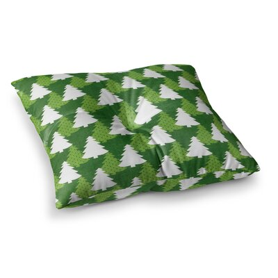 Pine Forest by Heidi Jennings Floor Pillow Size: 23 x 23