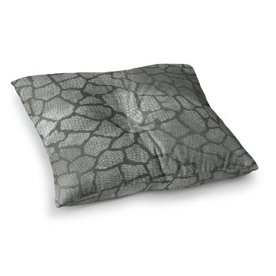 Snake Skin by Heidi Jennings Floor Pillow Size: 26 x 26