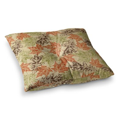 Leaf it to Me by Heidi Jennings Floor Pillow Size: 23 x 23