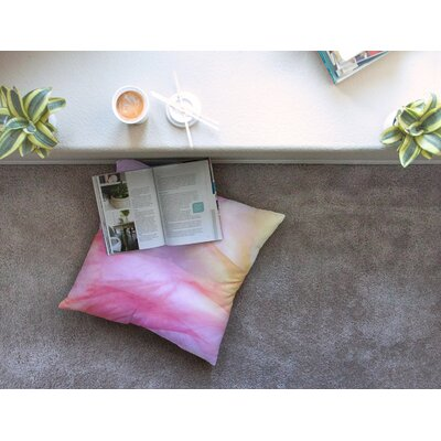 Pastel Haze by Heidi Jennings Floor Pillow Size: 23 x 23