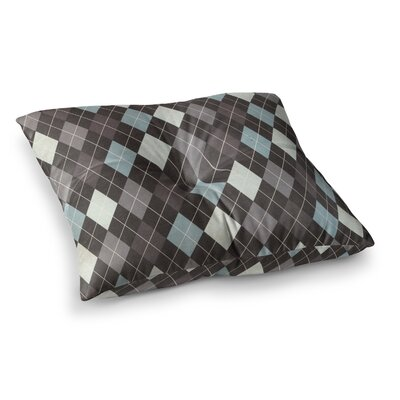 Argyle by Heidi Jennings Floor Pillow Size: 26 x 26