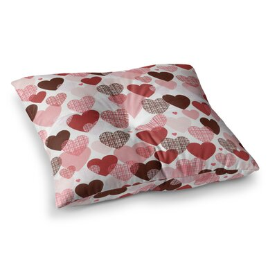 Love by Heidi Jennings Floor Pillow Size: 26 x 26