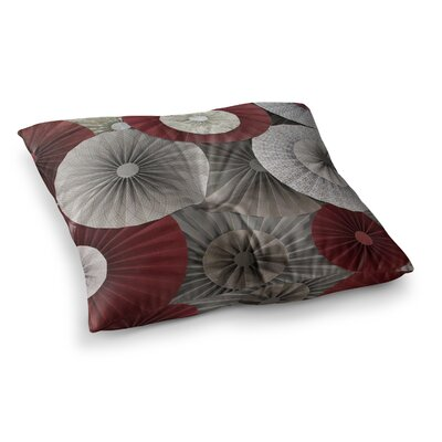 Merlot by Heidi Jennings Floor Pillow Size: 26 x 26