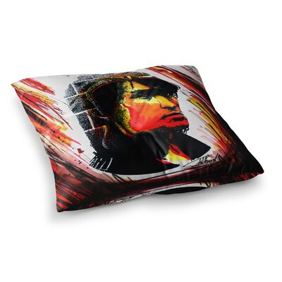 Tsoi is Alive People by Ivan Joh Floor Pillow Size: 23 x 23